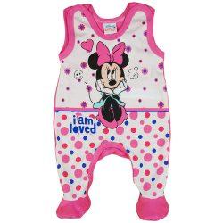 "Disney ""I am loved"" Minnie ujjatlan rugdalózó"