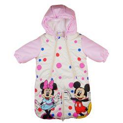 Disney Minnie és Mickey vízlepergetős bélelt overál