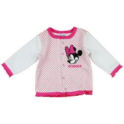 Disney Minnie hímzett plüss baba kardigán