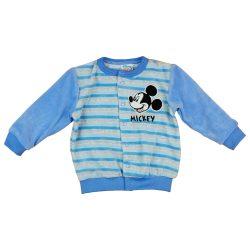 Disney Mickey hímzett baba kardigán  kocsikabát