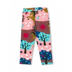JNY organikus pamut kislány leggings - lovas