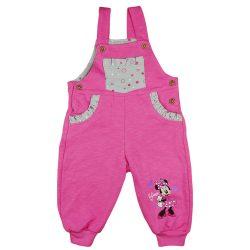 Disney Minnie szívecskés lányka kertésznadrág