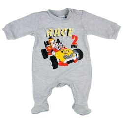 Disney Mickey| autós hosszú ujjú rugdalózó