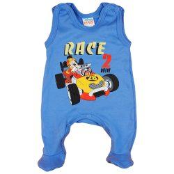 Disney Mickey autós ujjatlan rugdalózó