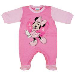 Disney Minnie szívecskés hosszú ujjú rugdalózó