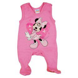 Disney Minnie szívecskés ujjatlan rugdalózó