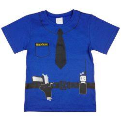 Rendőrös rövid ujjú fiú póló