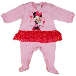 Disney Minnie szívecskés| nyuszis szoknyás rugdalózó