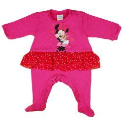 Disney Minnie szívecskés  nyuszis szoknyás rugdalózó