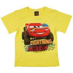 Disney Cars- Verdák rövid ujjú fiú póló