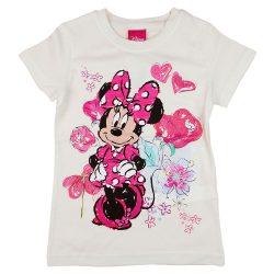 Disney Minnie szíves| virágos lányka póló