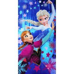 Disney Frozen/Jégvarázs frottír strandtörölköző
