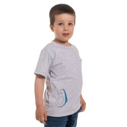 Mini&Me kisfiú rövid ujjú póló Avokádó mintával