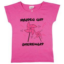 Mini&Me rövid ujjú kislány póló - gyereknap