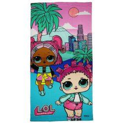 LOL baba gyerek strandtörölköző - gyorsan száradó strandtörölköző