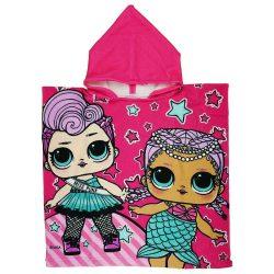 LOL baba gyerek poncsó - gyorsan száradó kapucnis törölköző