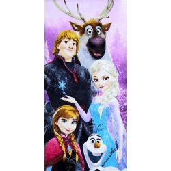 Disney Frozen/ Jégvarázs mintás pamut strandtörölköző