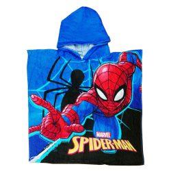 Disney Spider-Man/ Pókember  mintás kapucnis fürdőponcsó