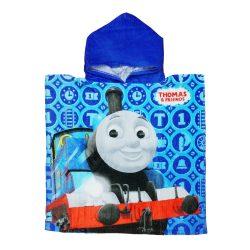 Thomas mintás kapucnis fürdőponcsó