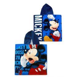 Disney Mickey mintás kapucnis fürdőponcsó