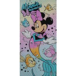 Disney Minnie sellős mintás pamut strandtörölköző