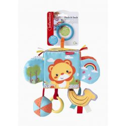 Infantino Peek & Seek készségfejlesztő kocka