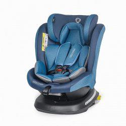 Coccolle Mydo forgatható Isofix gyermekülés 0-36 kg - Pure Blue