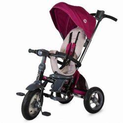 Coccolle Velo Air tricikli felfújható kerekekkel - Purple