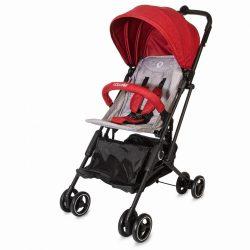 Coccolle Mino ultrakompakt hibrid sport babakocsi - Red