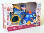 BamBam Készségfejlesztő játék - zenélő rendőrörs