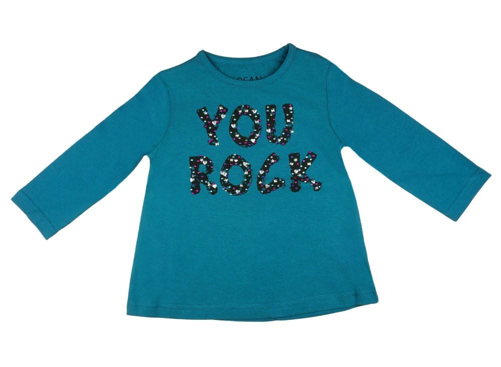 c6aa006937 Losan lányka hosszú ujjú póló feliratos - Pindurka
