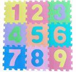 Apollo FreePlay Puzzle játszószőnyeg - Számok