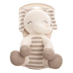 Baby Hug - Kötött elefánt - 24 cm