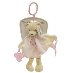 Baby Hug Szundikendő - rózsaszín maci - 35 cm