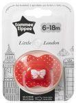Tommee Tippee Little London játszócumi 6-18 hó lány