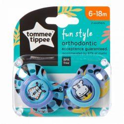 Tommee Tippee Ecomm Fun játszócumi 6-18 hó (2db)