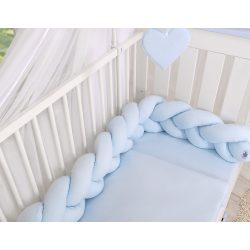 BabyLion Prémium Fonott rácsvédő - Kék
