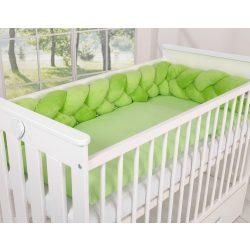 BabyLion Prémium Fonott plüss rácsvédő - Zöld