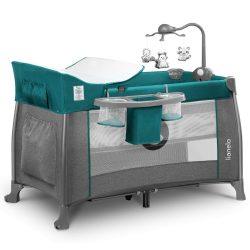 Lionelo Thomi multifunkciós utazóágy - Turquoise Green