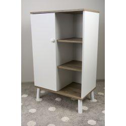 Drewex Basileo szekrény - Oak RAW-White