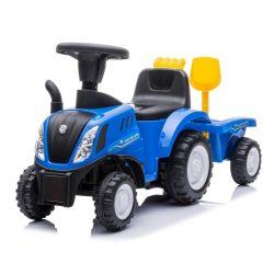 Sun Baby bébitaxi - New Holland traktor pótkocsival - kék