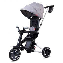 Sun Baby QPlay Nova tricikli - EVA kerekekkel - Szürke