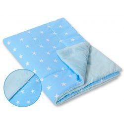 BabyLion Prémium vastag takaró - kék - csillagok