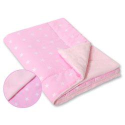 BabyLion Prémium vastag takaró - rózsaszín - csillagok