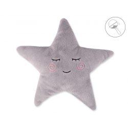 BabyLion Prémium Csillag párna - Szürke