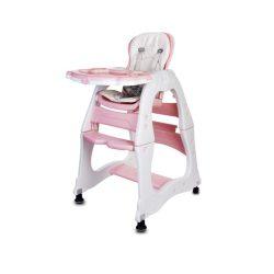 Sun Baby 2az1-ben Etetőszék és kis asztalka - Rózsaszín  - !! KIFUTÓ !!