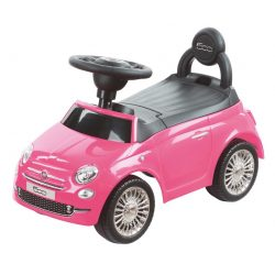 Sun Baby bébitaxi - Fiat 500 - Rózsaszín
