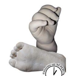 BabyLion 3D szoborkészítő készlet - 2 szobros (Gyermek méret)