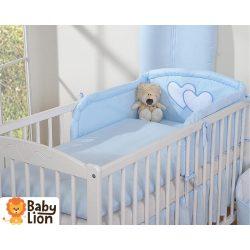 BabyLion Prémium 3 részes ágyneműszett - HH - Kék