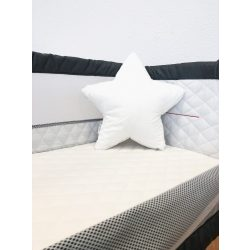 BabyLion Csillag alakú párna - Fehér